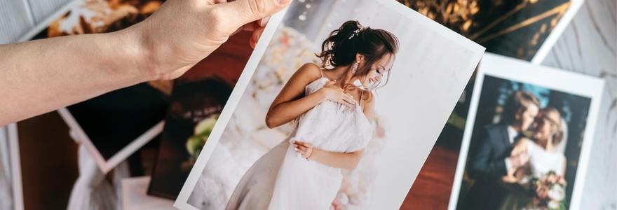 tirage photo de mariage